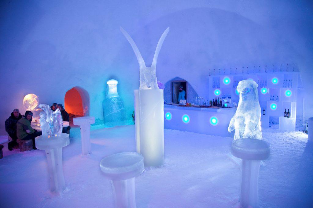 Arktyczny bar, jak znalazł na upały
