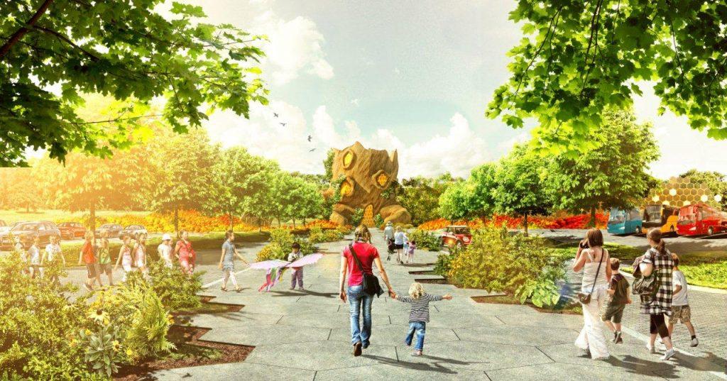 Wielkie drzewo będzie epicką dekoracją na miarę Disneylandu.
