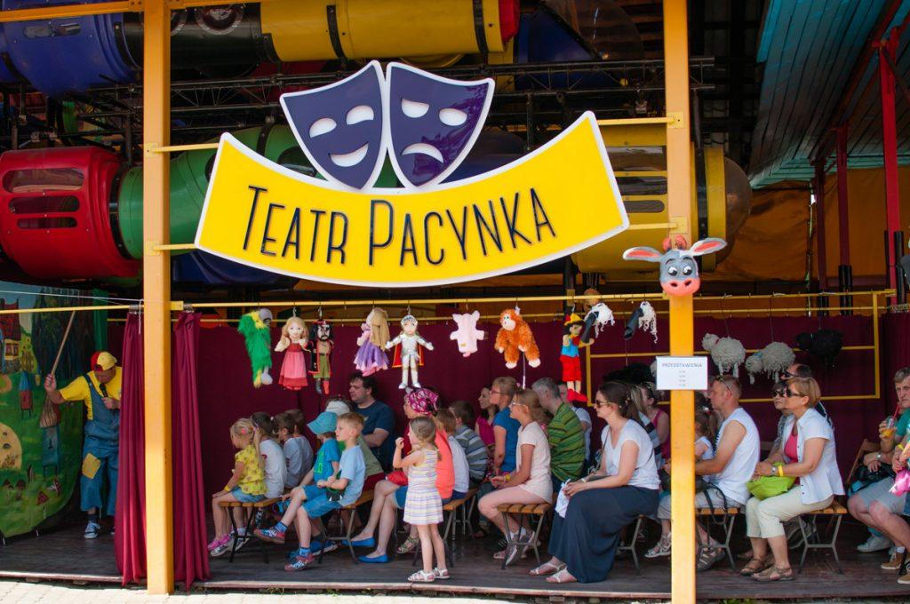 Teatr Pacynka pana Kukiełki w akcji
