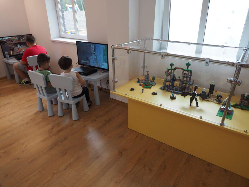 Lego wystawa w Discovery Center