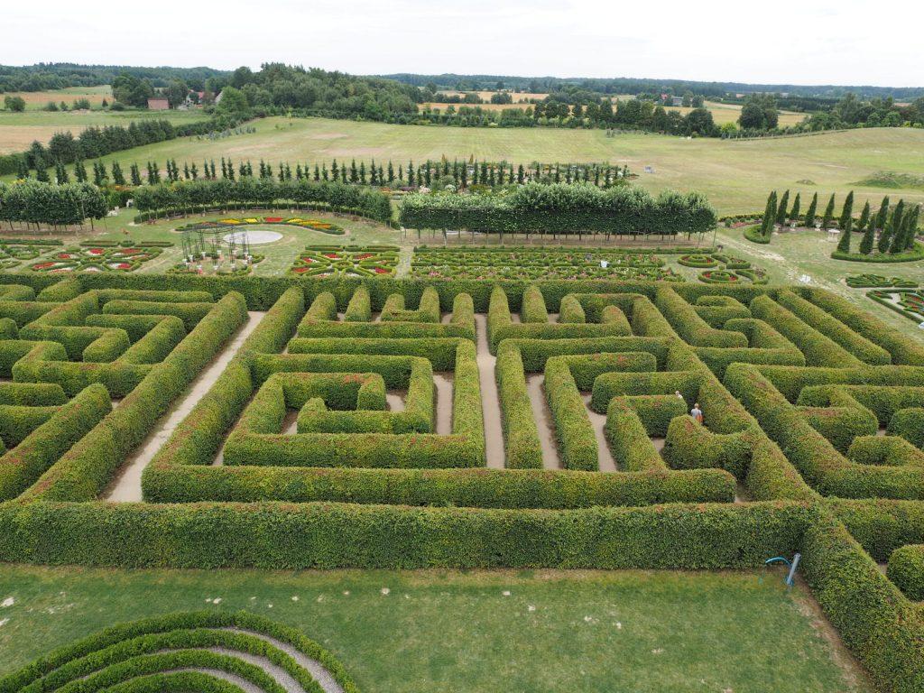 ....i jeszcze jedno spojrzenie na ogrody w Dobrzycy