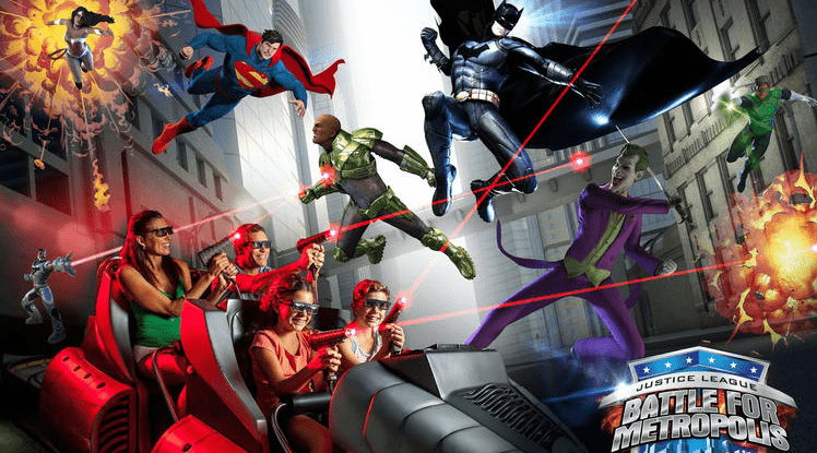 Justice League. Battle for Metropolis