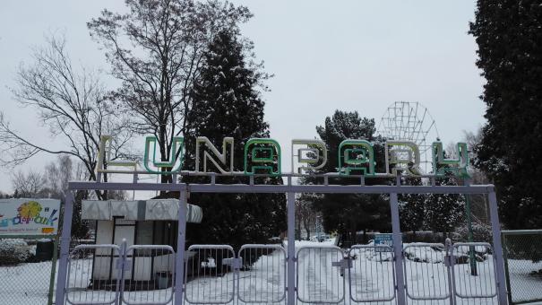 Koniec lunaparku w Łodzi