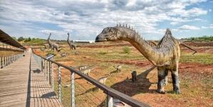 W ubiegłą sobotę obudziły się Krasiejowskie dinozaury!