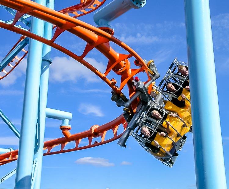 Rollercoaster od Zamperli, który stanie w Ankapark