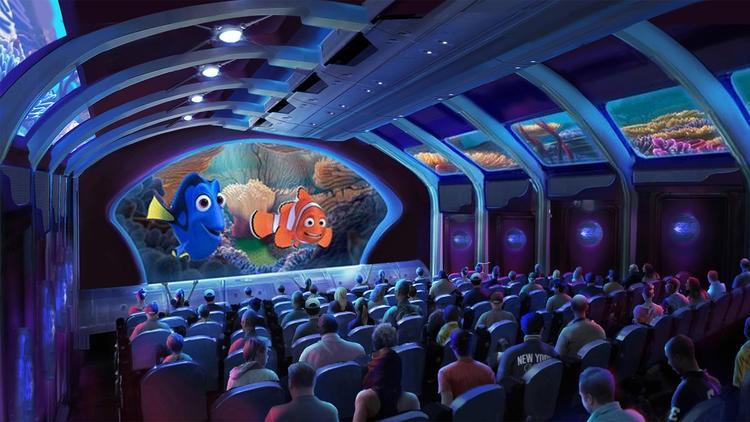 Symulator Gdzie jest Dory w Tokyo DisneySea