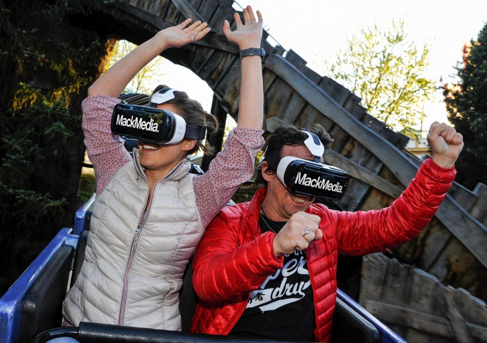 System VR na kolejce Alpenexpress Enzian w Europa-Parku (fot. Europa-Park)