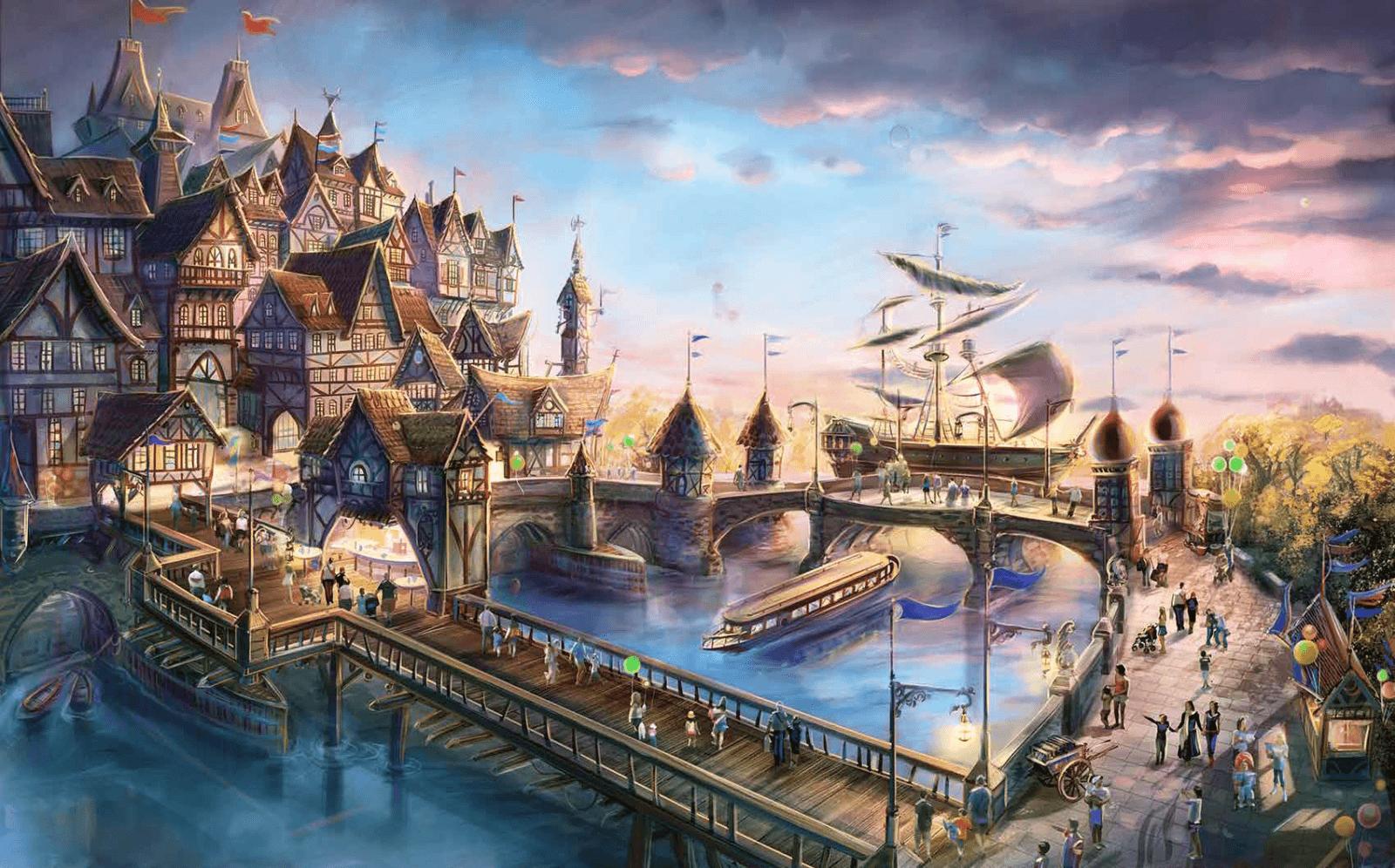 Wizualizacja sektora tematycznego - Port Paramount (fot. Paramount London)