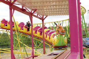 "Rollercoaster ""Dragon"""