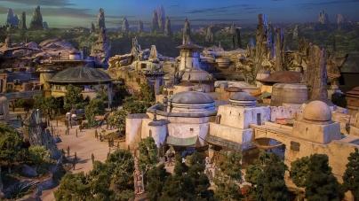 Disney publicznie pokazał makietę Star Wars Land!
