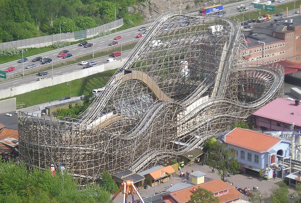 Liseberg Balder_rollercoaster