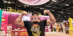 Hulk Hogan na IAAPA 2017 w Orlando