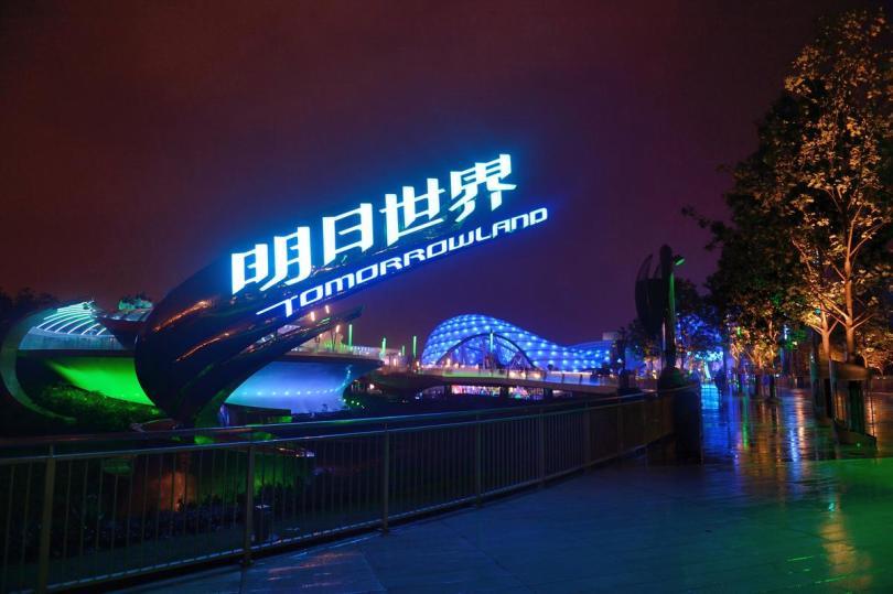 Tomorrowland at Shanghai Disneyland on June 15, 2016. ///ADDITIONAL INFORMATION: Slug: Shanghai.Disneyland, Day: Wednesday, June 15, 2016 (6/15/16), Time: 7:45:20 PM, Location:  Shanghai,  - Shanghai Disneyland - JEFF GRITCHEN, STAFF PHOTOGRAPHER