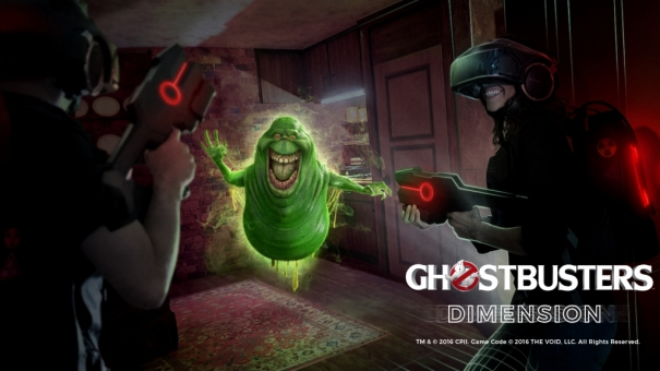 The VOID Ghostbusters VR w NY