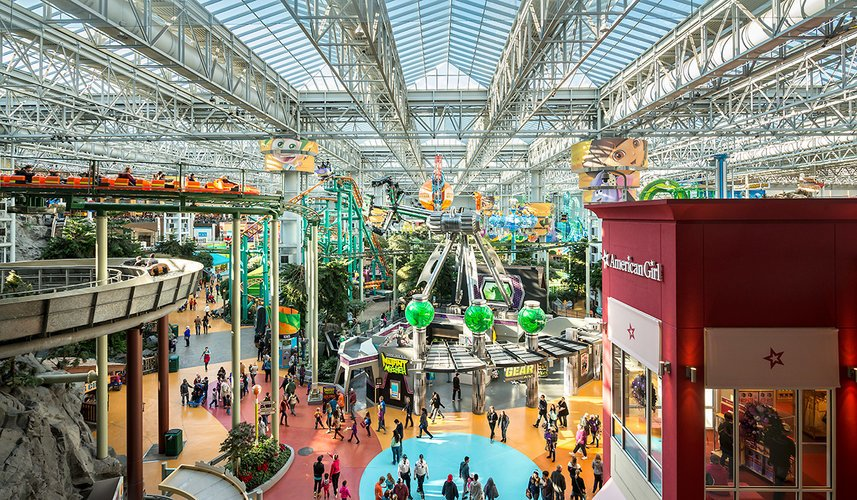 Nickelodeon Universe w Mall of America