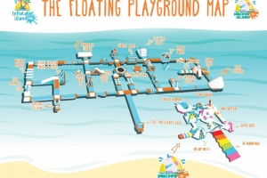 Mapka (fot. Inflatable Island)