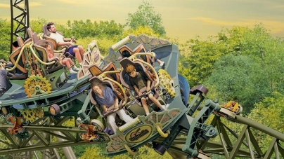 Nowy rollercoaster w Silver Dollar City – Time Traveller