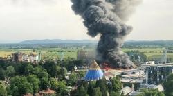 Ogień strawił sektor skandynawski w Europa-Parku