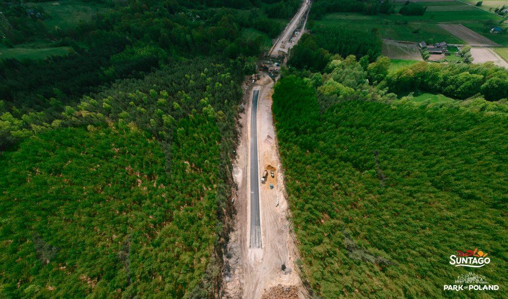 Budowa drogi dojazdowej (fot. Park Of Poland)