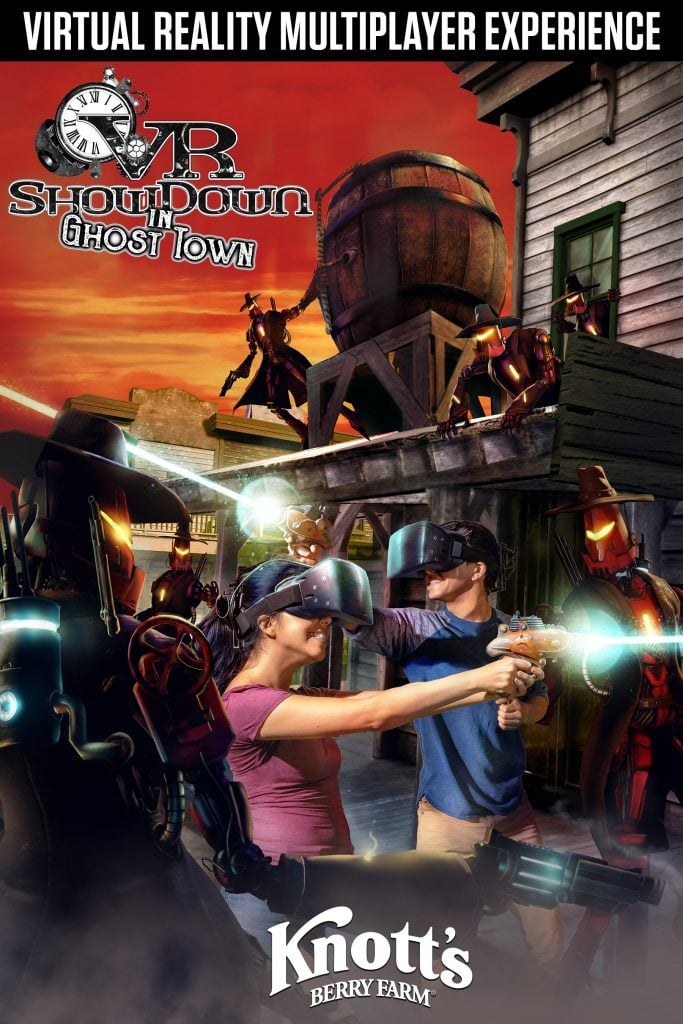 VR Showdown In Ghost Town at Knott's Berry Farm Poster High-Res