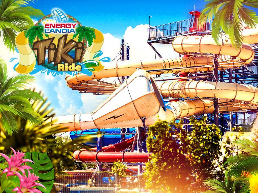 Zjeżdżalnie Tropical Splash - EnergyLandia