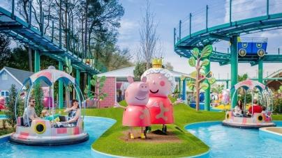 Więcej Peppy Pig w Paultons Park