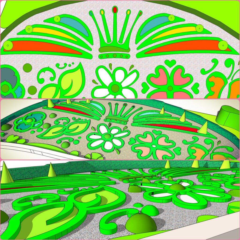 Projekt zieleni w Plopsaland