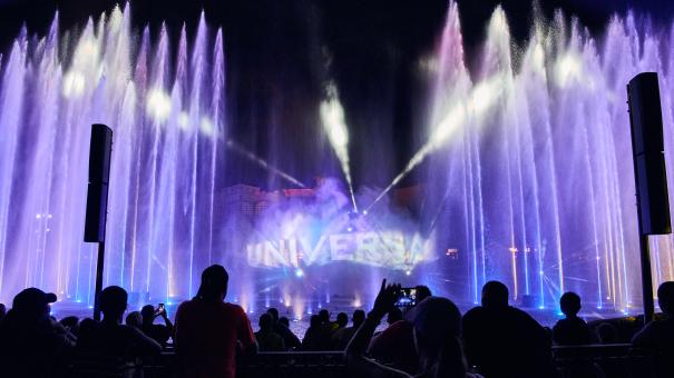 Nocne atrakcje Universal w Orlando