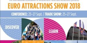 Euro Attractions Show 2018 z rozszerzonym programem edukacyjnym dla operatorów