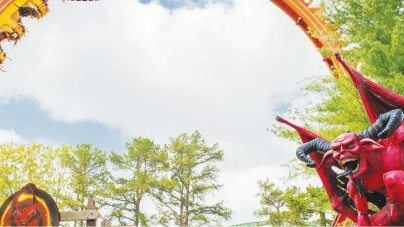 22m Giant Loop – hybryda rollercoastera i diabelskiego młyna