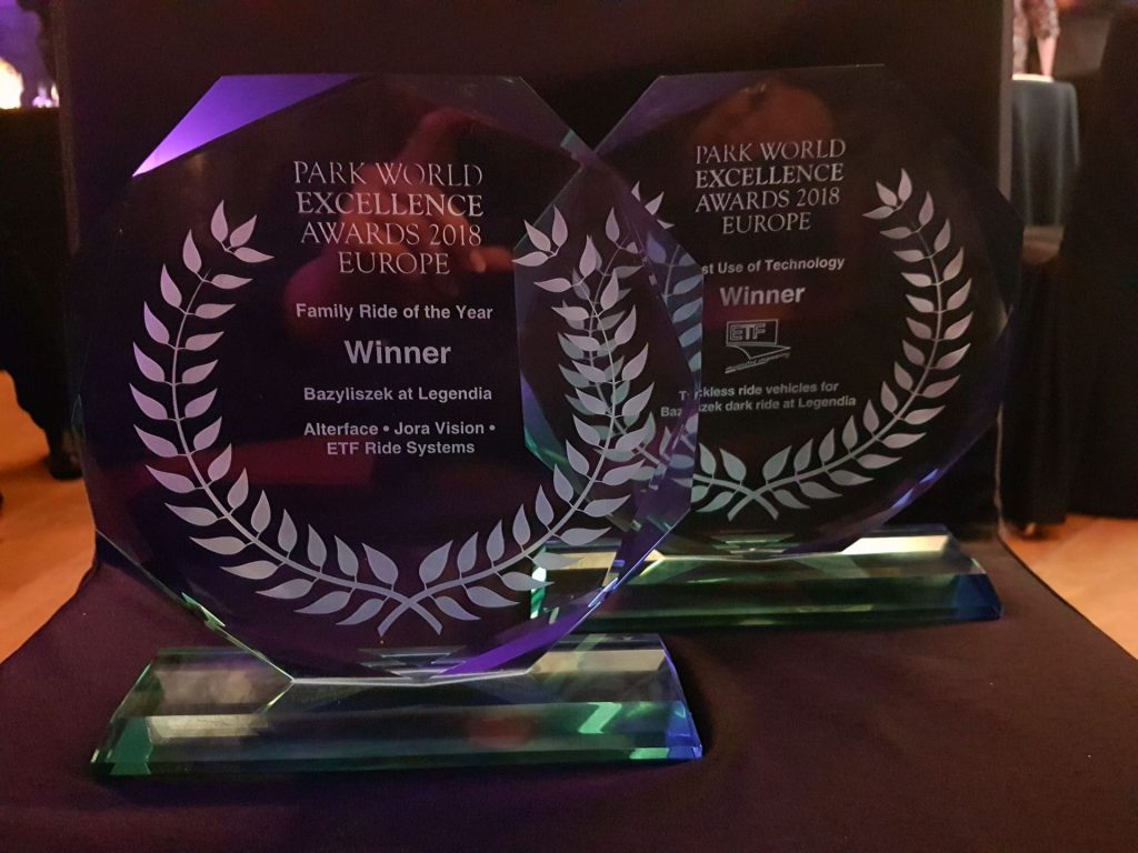 "Nagrody ""Park World Excellence Awards 2018"" dla Bazyliszka"