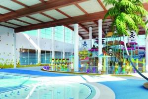 Wizualizacja hali basenowej