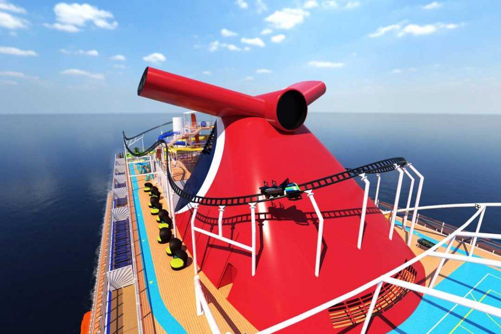Wizualizacja atrakcji na statku (fot. mat.prasowe)