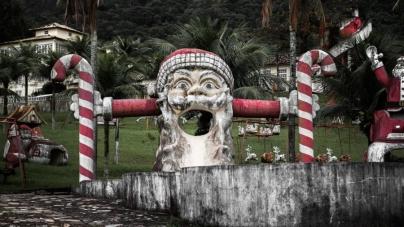 Opuszczony park Św. Mikołaja