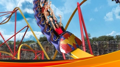 Wonder Woman rządzi w Six Flags Fiesta Texas