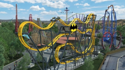 Batman: The Ride rusza w Kalifornii