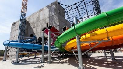 Dwa lata temu ruszyła budowa parku Suntago Wodny Świat