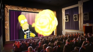 The Simpsons w 4D