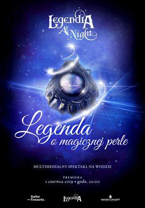 Legendia at Night_plakat