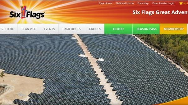Park Six Flags Great Adventure zasilany już wyłącznie energią słoneczną