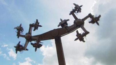 Faszystowski symbol w niemieckim parku rozrywki