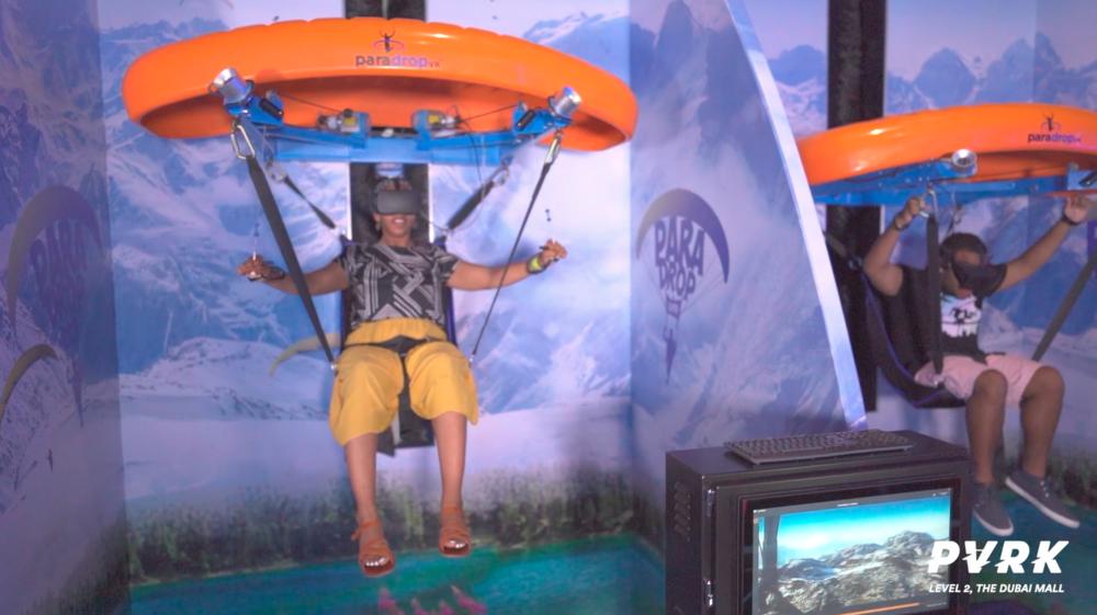 Paradrop VR w Abu Dabi