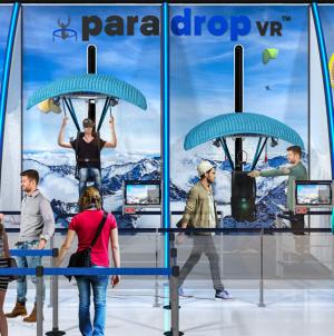 Paradrop VR w Skytropolis Funland
