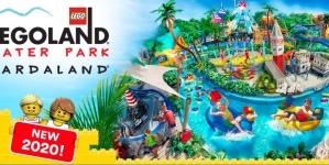 Pierwsza LEGO cegła legła na placu budowy parku wodnego LEGOLAND w Gardalandzie