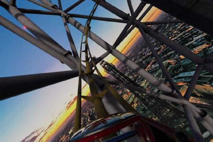 Blackpool Tower VR coaster_3