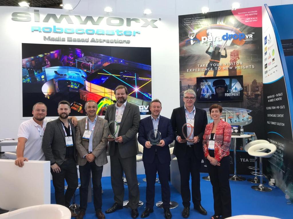 Simworx IAAPA Expo Europe 2019