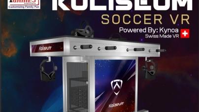 Piłkarzyki VR – Koliseum Soccer VR
