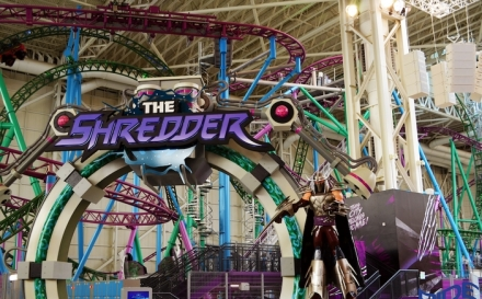 Rollercoastery Ride Entertainment w Nickelodeon Universe