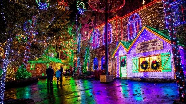 Silver Dollar City ma najlepszą imprezę świąteczną w parku rozrywki