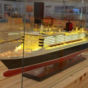 Wystawa modeli statków